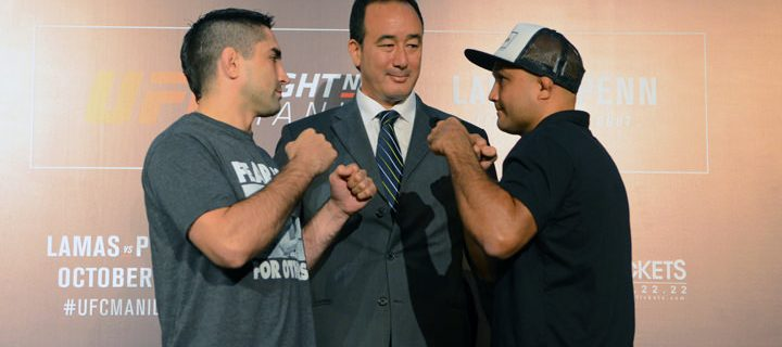 Smart Bro offers the best deals and exclusive perks for UFC FIGHT NIGHT Manila: LAMAS vs. PENN