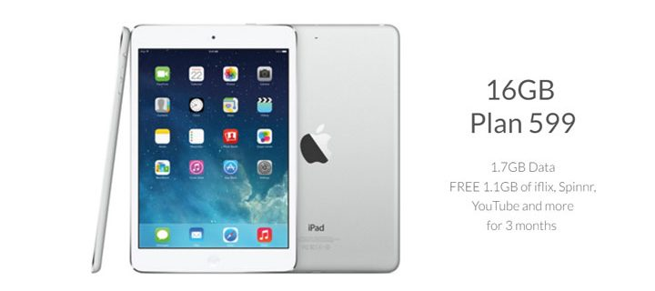 Get the iPad Mini 2 on Smart Bro's Plan 599