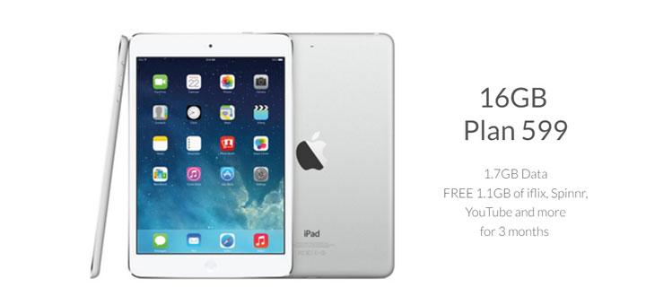 Get the iPad Mini 2 on Smart Bro's Plan 599