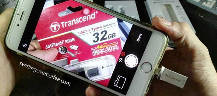 Transcend JetDrive Go 500S Lightning / USB 3.1 32GB Flash Drive Review
