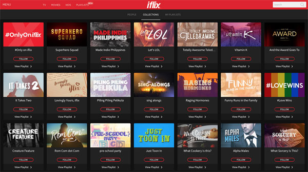 iflix-Playlists-Collections