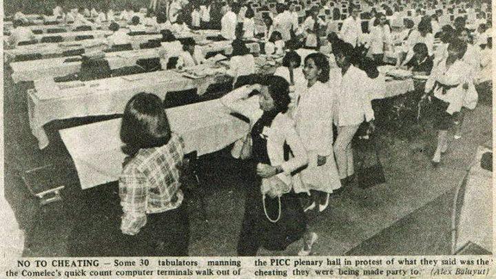 Philippine International Convention Center, COMELEC, Vote Tabulation Cheating
