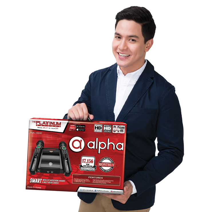 Alden Richards, Platinum Karaoke Alpha Mic