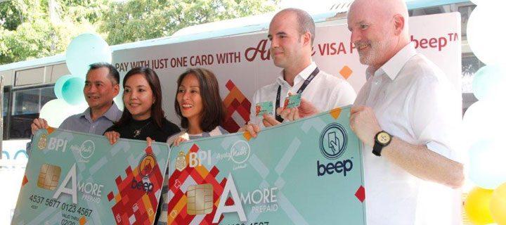 BPI, Ayala Malls Launch Amore Visa Prepaid beep™ Card