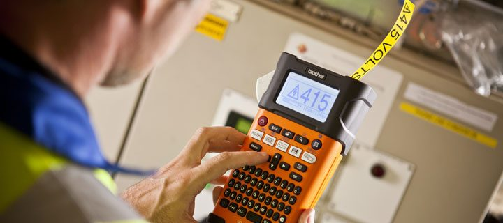 Brother P-Touch: Your industrial labeling partner