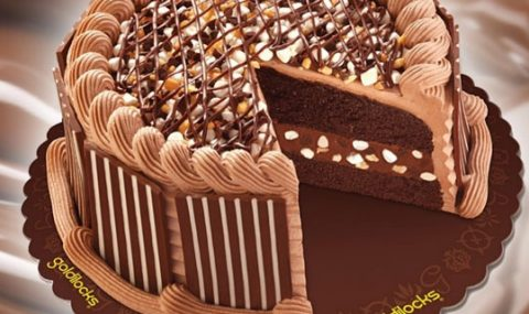 Goldilocks' Chunky Chocolate Cake: The Chocolate Connection