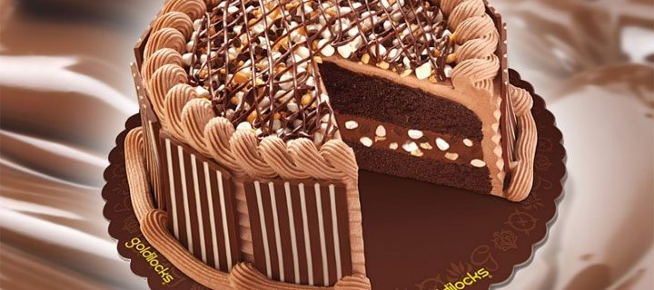 Goldilocks' Chunky Chocolate Cake: The Chocolate Connection