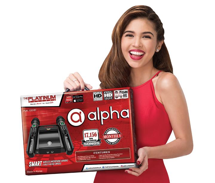 Maine Mendoza, Platinum Karaoke Alpha Mic