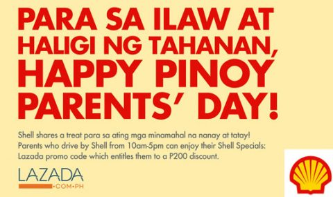 Pilipinas Shell honors all moms and dads in celebration of Pinoy Parents' Day