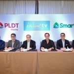 Smart PLDT signs partnership with ABSCBN on iWanTV