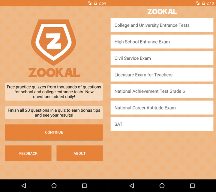 Zookal, Free Exam Reviewer, Free Entrance Exam Reviewer