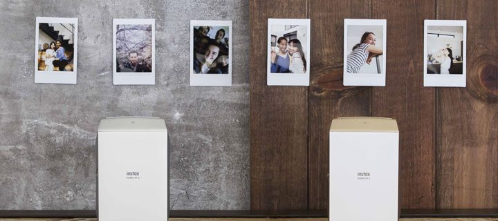 Print photos from your smartphone with the new instax Share Printer