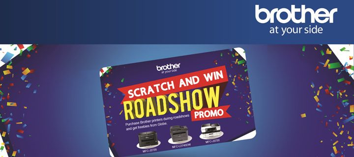 Watch out for Brother's 'Scratch and Win' roadshow promo, tradeshows