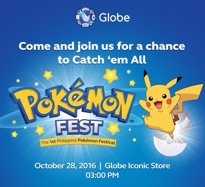 The Pokémon Company and Niantic, Inc. Announce Pokémon GO Partnership With Globe Telecom In The Philippines