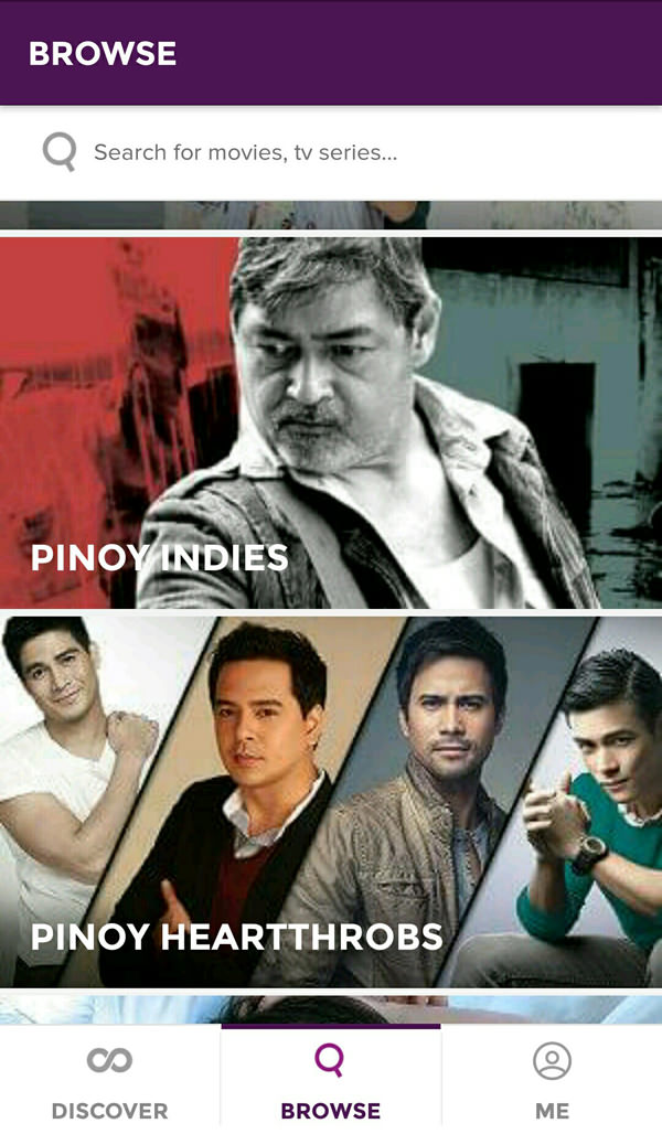 HOOQ New UI, Pinoy Indies, Pinoy Heartthrobs