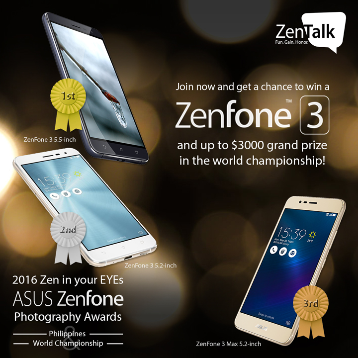 ASUS Zen in Your EYEs Photography Awards, ASUS ZenFone 3 Review