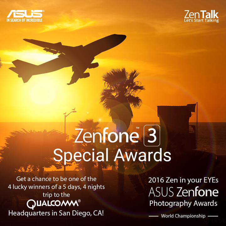 ASUS Zen in Your EYEs Photography Awards, ASUS ZenFone 3 Review