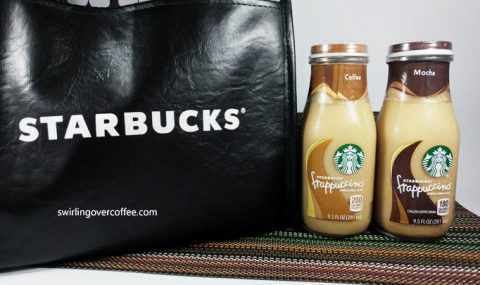Enjoy coffee on the go with Starbucks Bottled Frappuccino®