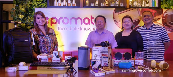 Promate Technologies showcase their line up of lifestyle tech products – and there's a lot to like!