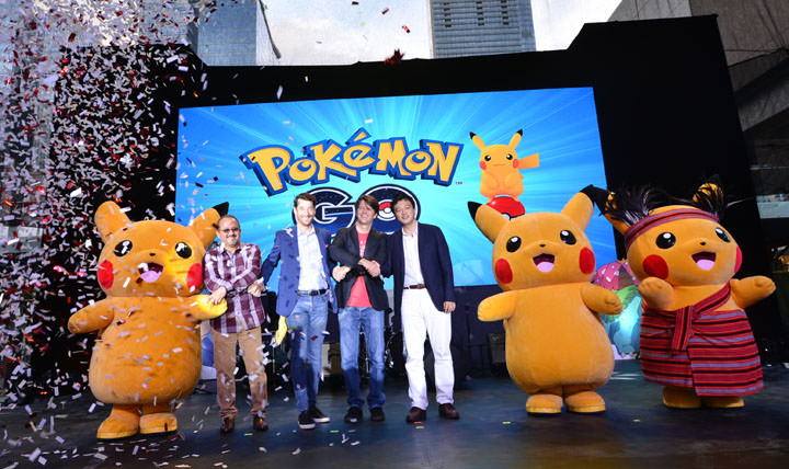 Globe Telecom together with The Pokémon Company and Niantic confirmed their partnership to make the Pokémon Go experience more accessible and enjoyable to Filipinos. Leading the announcement for this exclusive partnership were Globe Chief Commercial Officer Albert De Larrazabal, Globe Senior Advisor for Consumer Business Dan Horan, Niantic Chief Executive Officer and founder John Hanke, and Susumu Fukunaga, Corporate Officer of The Pokémon Company. One of the highlights of the partnership was that Globe retail locations and charging stations have become PokéStops and Gyms in game. To help spread more Pokémon GO joy, Globe will also be working with its partners, namely Ayala malls, Puregold, Robinsons Malls and SM Supermalls.