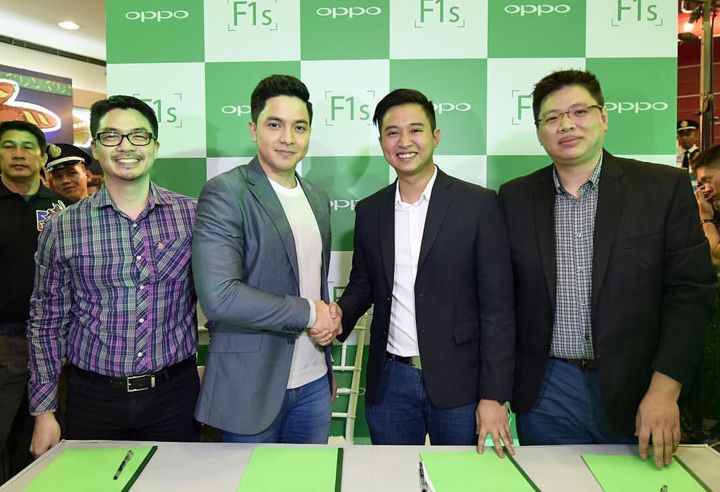 OPPO announces Alden Richards as new brand ambassador, unveils OPPO F1s Limited