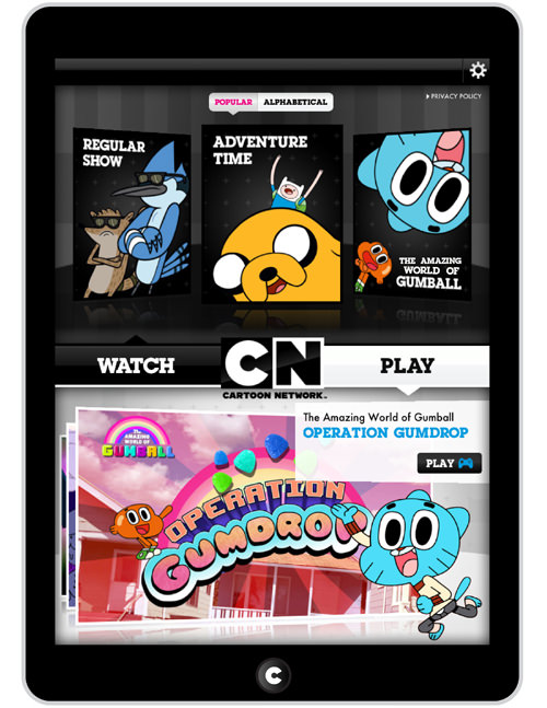 Cartoon Network Watch and Play