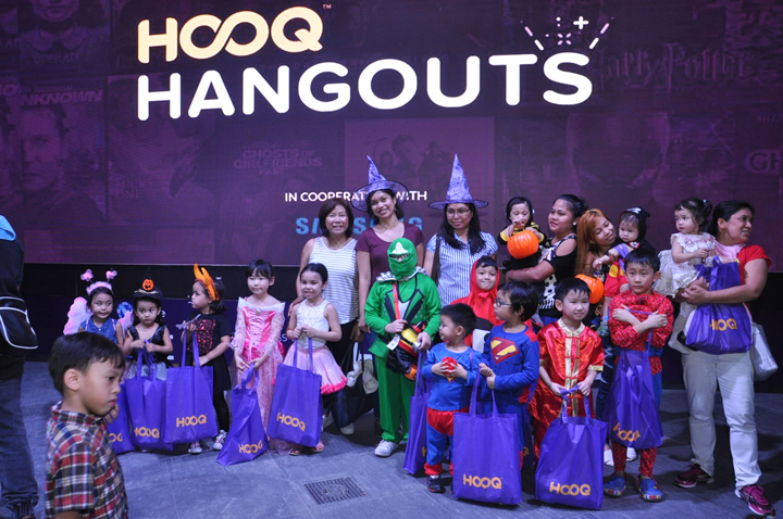 HOOQ Hangouts Monster House