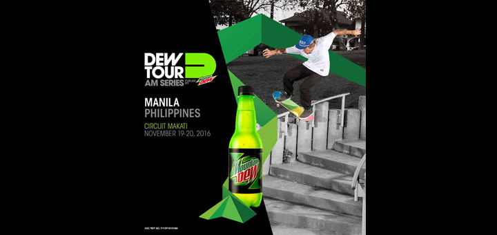 Mountain Dew's Dew Tour Am Series competition gives local skaters a chance to win P75,000 and a trip to USA