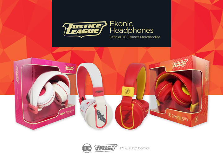 Ekonic Justice League Headphones are here!