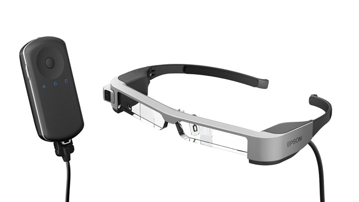 Epson announces launch of world's lightest OLED binocular see-through smart glasses, the Moverio BT-300 in Southeast Asia