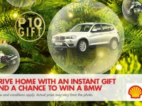 Celebrate the holidays with a luxury ride from Pilipinas Shell