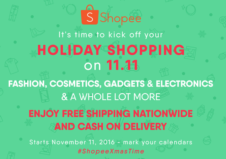 Shopee Holiday Shopping 2016