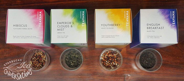 Enjoy Starbucks Teavana Full Leaf Teas at Starbucks stores, in your office, or at home