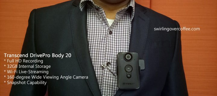 Transcend DrivePro Body 20 Wireless Body Camera Review
