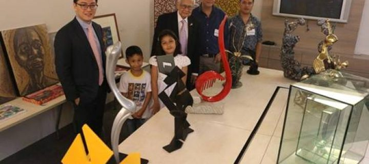Rotary Club of Makati West holds yearly art sale and charity drive for kids with congenital heart ailments