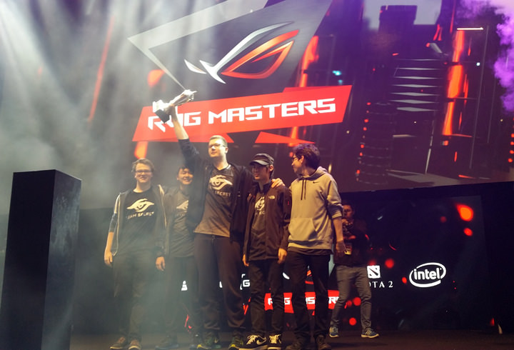 Team Secret crowned as the first ROG Masters 2016 winning the overall grand prize of USD 150,000