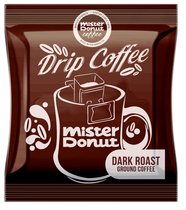 Christmas Pops Drip Coffee Mini Standee, Mister Donut