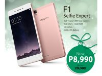 OPPO F1 is now only P8,990