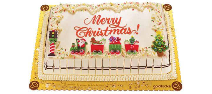 Say 'Merry Christmas' with Goldilocks