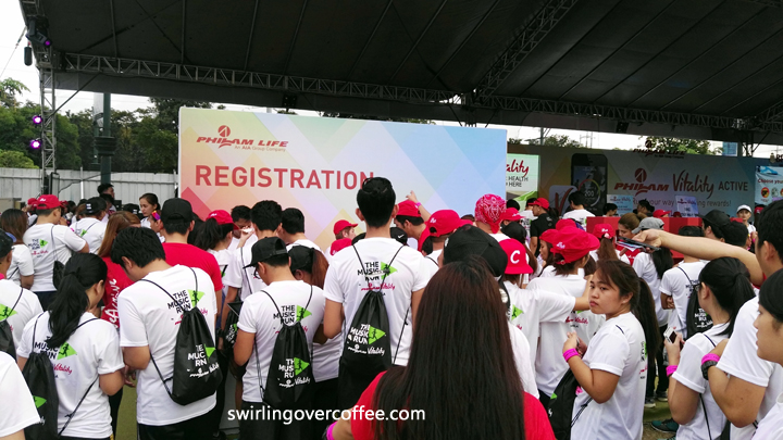Philam Life Vitality, The Music Run 2016
