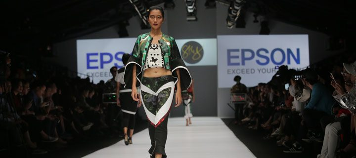 Epson partners with Indonesian and Thai designers at Jakarta Fashion Week 2017 to showcase digitally printed collection