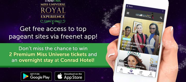 Get access to the latest Ms. Universe updates with the help of freenet