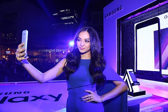 Ms International 2016 Kylie Verzosa is the new Samsung Galaxy A Series (2017) ambassador