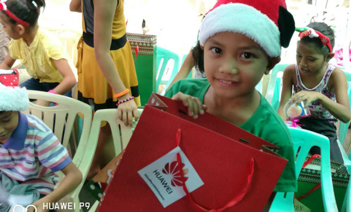 GiveMoreWithHuawei grants kids' Christmas wishes – Over Php 250,000 worth of donations received by children of Concordia