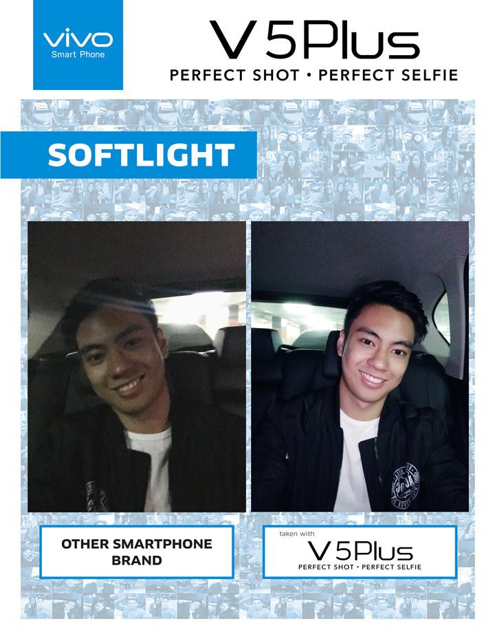 Vivo V5 Plus, Softlight