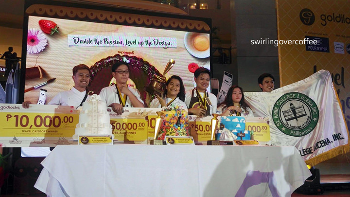 St. Anne College of Lucena is the 2017 Goldilocks Intercollegiate Cake Decorating Challenge  Overall Champion