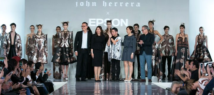 Renowned Fashion Visionary John Herrera and Epson team up for an Aguila-inspired collection printed on Digital Textile Printers