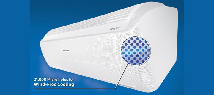 Samsung Electronics launches Wind-Free™ Air Conditioner at CES 2017
