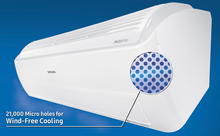 Samsung Electronics Launches Wind Free Air Conditioner At