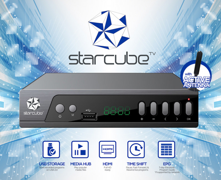 Starcube digital TV box